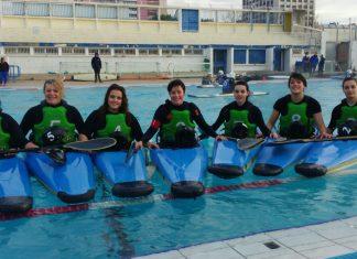 loeuilly canoe kayak, kayak polo, equipe fille