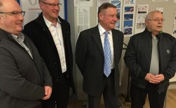 Philippe Ermenault et Rolf Maier invités avec Gilles Caron du CDOS