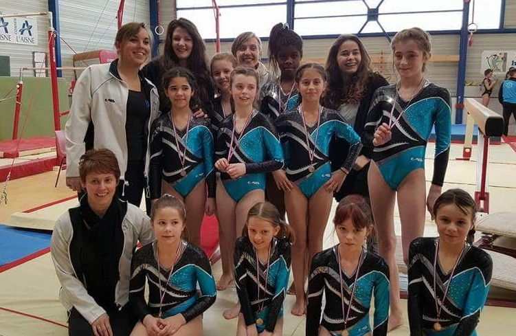 championnat de picardie, gymnastique, femina sport