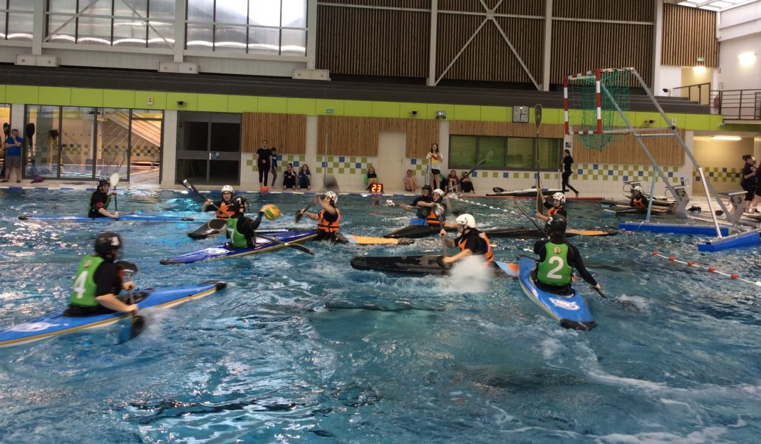 loeuilly vs ilde de france, kayak polo
