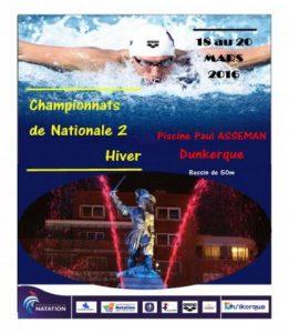 Championnats de France de Nationale 2 à Dunkerque