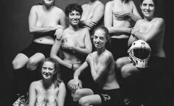 vice-championnes floorball hoplites valkyries