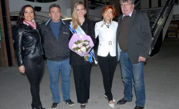 Carine Censier, Joël Gricourt, Océane Hénon et ses parents, maillons forts de cette soirée de sensibilisation.