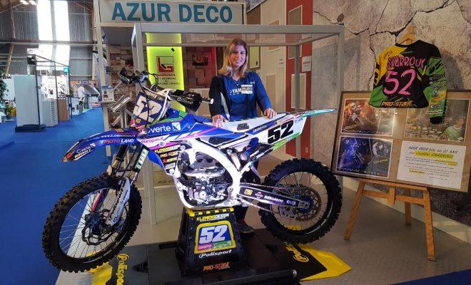 Moto cross une championne la foire expo gazette for Amiens foire expo