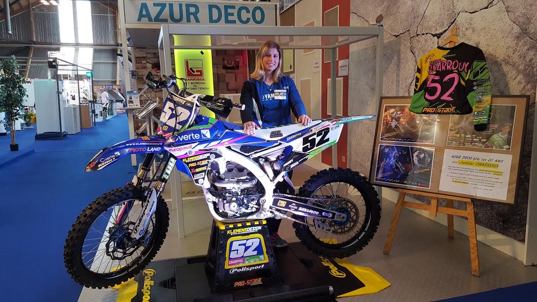 Moto cross une championne la foire expo gazettesports for Amiens foire expo