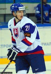 Tomas Nechala a porté les couleurs de la Slovaquie en U18 et U20. Photo : Marco Bertolini