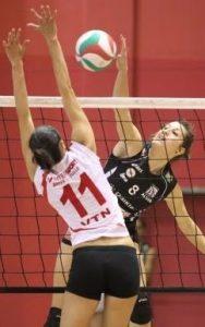 Sabrina Delahaye portera à nouveau le maillot de l'ALMVB la saison prochaine