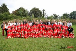 """Une belle """"photo de famille"""" pour l'Ecole Pauleta Sportzone. Photo : Leandre Leber - Gazettesports.fr"""