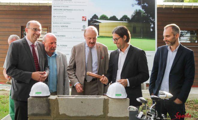 golf salou l des vestiaires pour s 39 ouvrir au handicap gazette sports le sport amiens. Black Bedroom Furniture Sets. Home Design Ideas