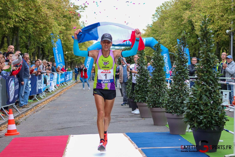 Athletisme Course 100km Champion De France Arrivée Gazettesports Coralie Sombret