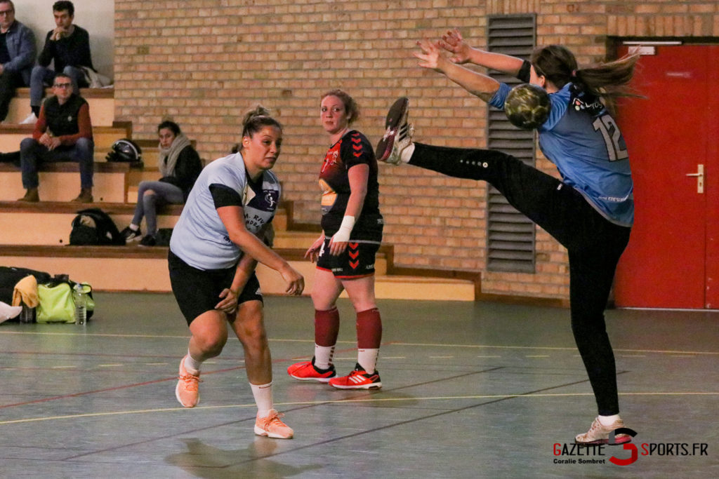 Handball Feminin Asm Rivery Vs Valenciennes Gazettesports Coralie Sombret 12