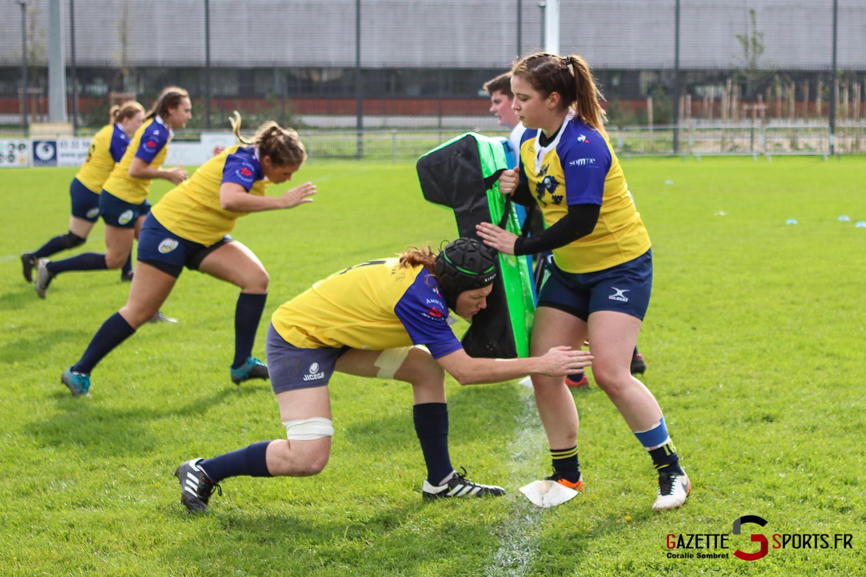 Rugby Feminin Rca Vs Armentière Grande Synthe Gazettesports Coralie Sombret 16