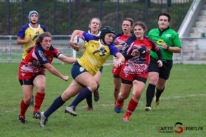 Rugby Feminin Rca Vs Armentière Grande Synthe Gazettesports Coralie Sombret 46