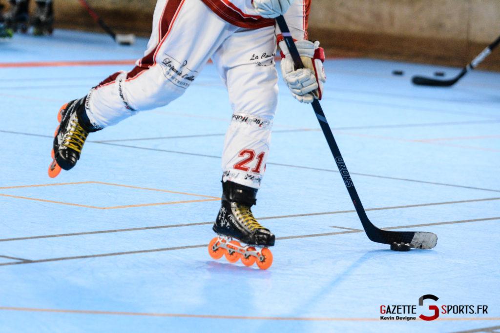 Roller Hockey Amiens Ecureuils Vs Mustangs La Chapelle Kevin Devigne Gazettesports
