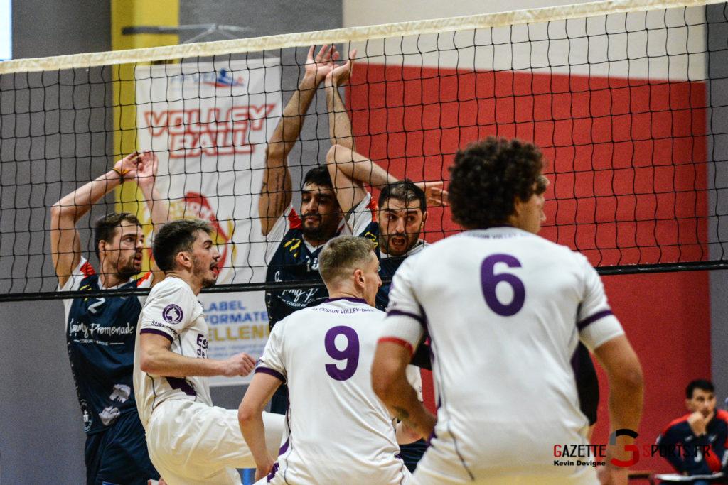 Volley Ball Amvb Vs As Cesson Saint Brieuc Kevin Devigne Gazettesports 13