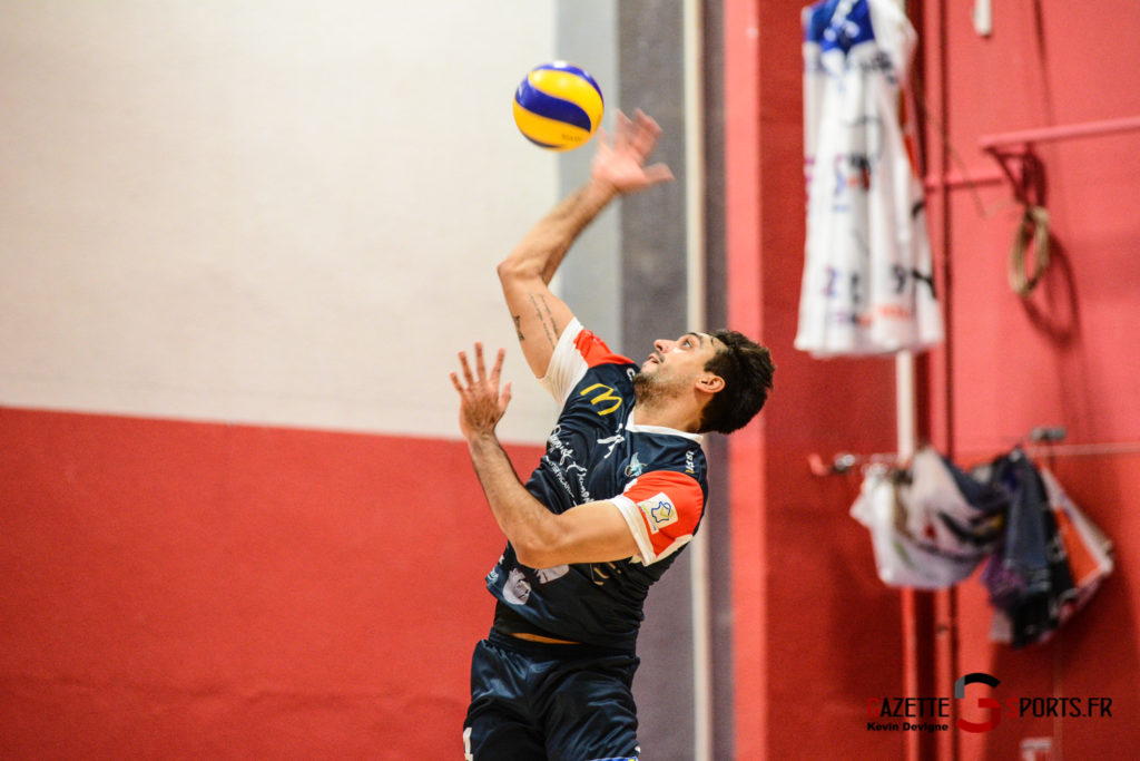 Volley Ball Amvb Vs As Cesson Saint Brieuc Kevin Devigne Gazettesports 14
