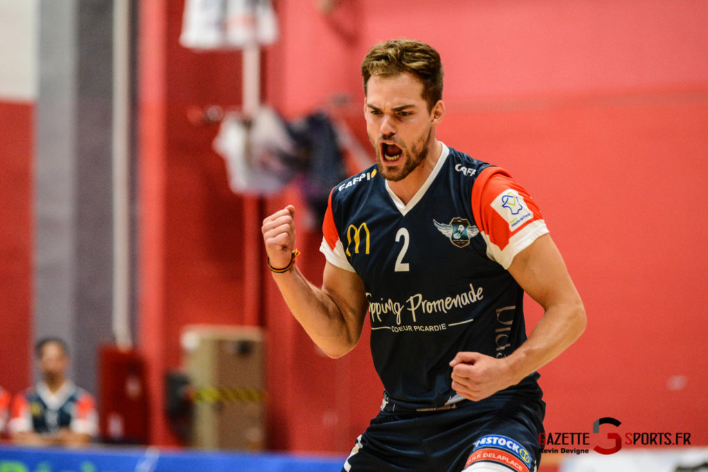 Volley Ball Amvb Vs As Cesson Saint Brieuc Kevin Devigne Gazettesports 15