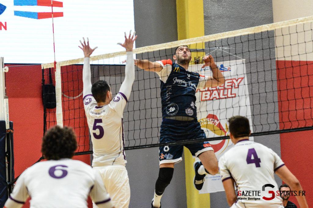 Volley Ball Amvb Vs As Cesson Saint Brieuc Kevin Devigne Gazettesports 17