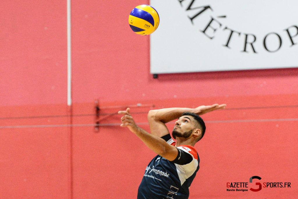 Volley Ball Amvb Vs As Cesson Saint Brieuc Kevin Devigne Gazettesports 21