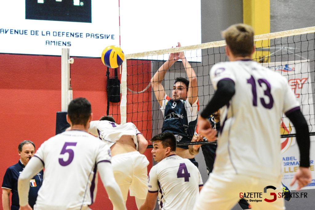 Volley Ball Amvb Vs As Cesson Saint Brieuc Kevin Devigne Gazettesports 22