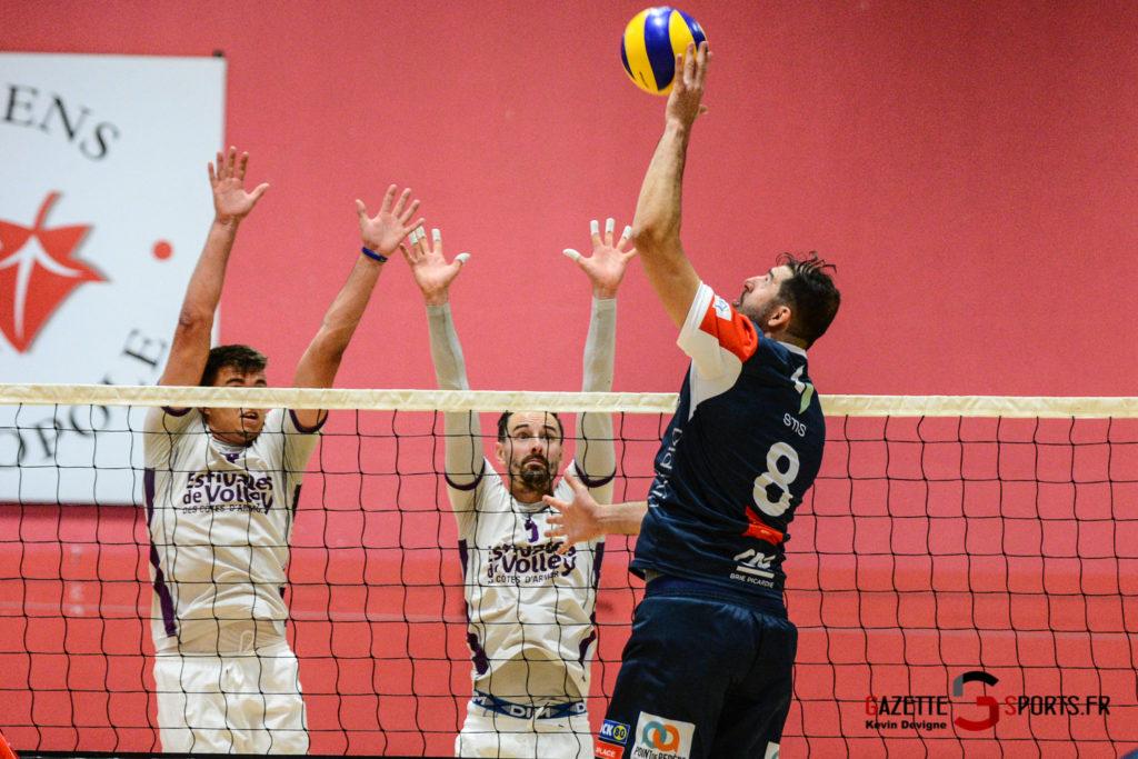 Volley Ball Amvb Vs As Cesson Saint Brieuc Kevin Devigne Gazettesports 31