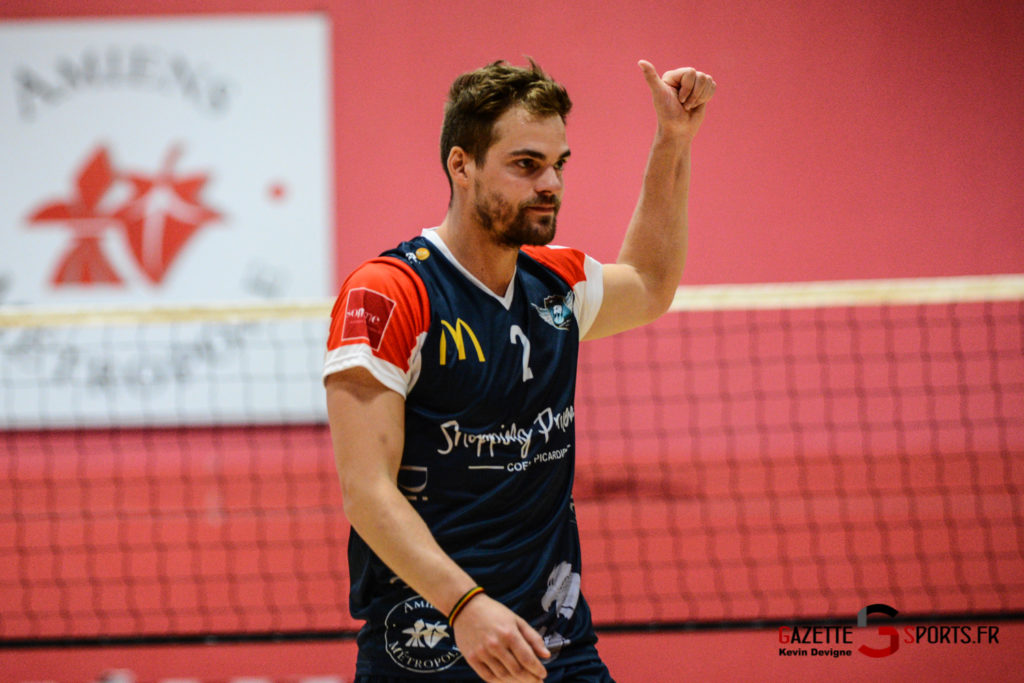 Volley Ball Amvb Vs As Cesson Saint Brieuc Kevin Devigne Gazettesports 32