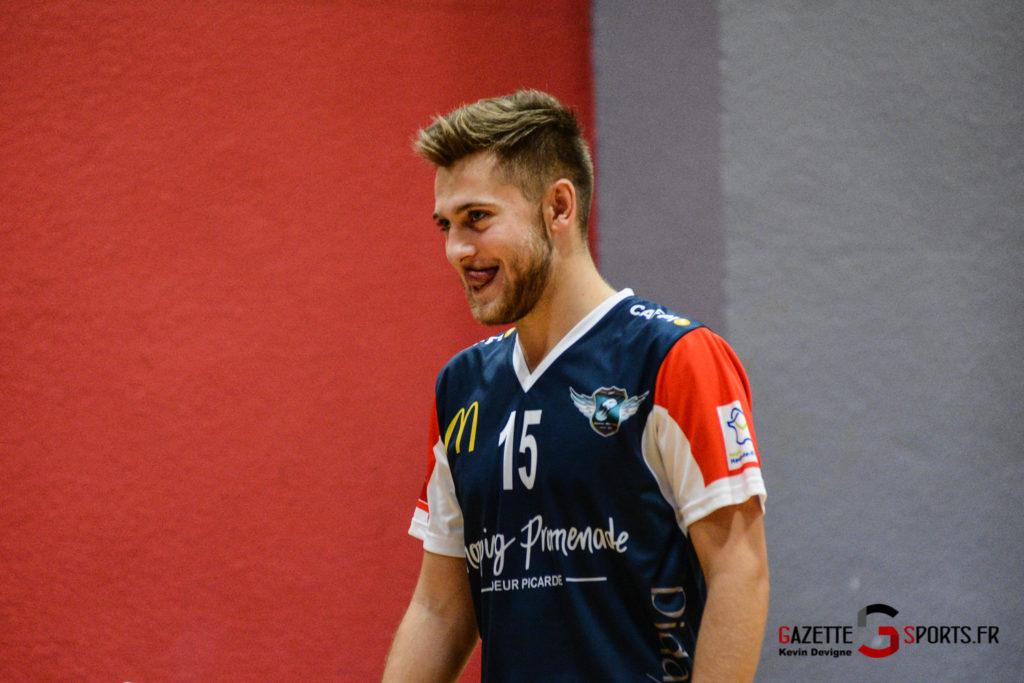 Volley Ball Amvb Vs As Cesson Saint Brieuc Kevin Devigne Gazettesports 35