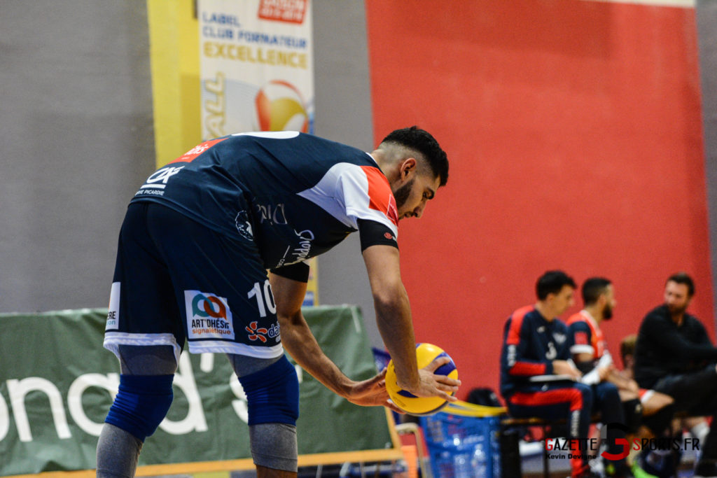 Volley Ball Amvb Vs As Cesson Saint Brieuc Kevin Devigne Gazettesports 37