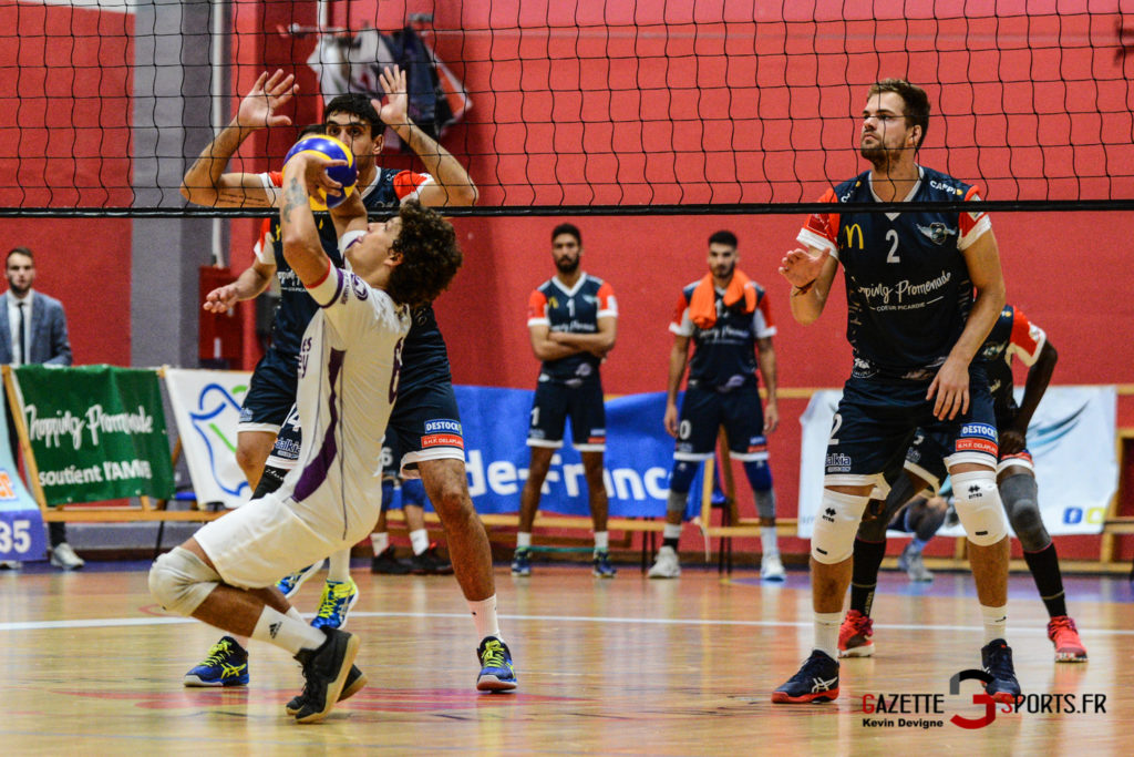 Volley Ball Amvb Vs As Cesson Saint Brieuc Kevin Devigne Gazettesports 41