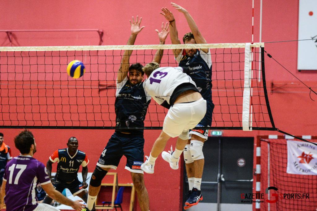 Volley Ball Amvb Vs As Cesson Saint Brieuc Kevin Devigne Gazettesports 42
