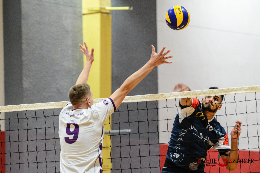 Volley Ball Amvb Vs As Cesson Saint Brieuc Kevin Devigne Gazettesports 43