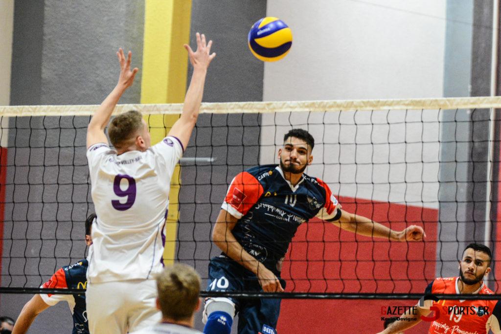 Volley Ball Amvb Vs As Cesson Saint Brieuc Kevin Devigne Gazettesports 44
