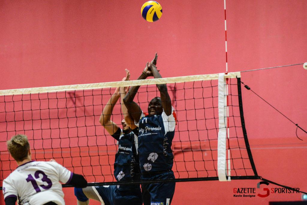Volley Ball Amvb Vs As Cesson Saint Brieuc Kevin Devigne Gazettesports 45