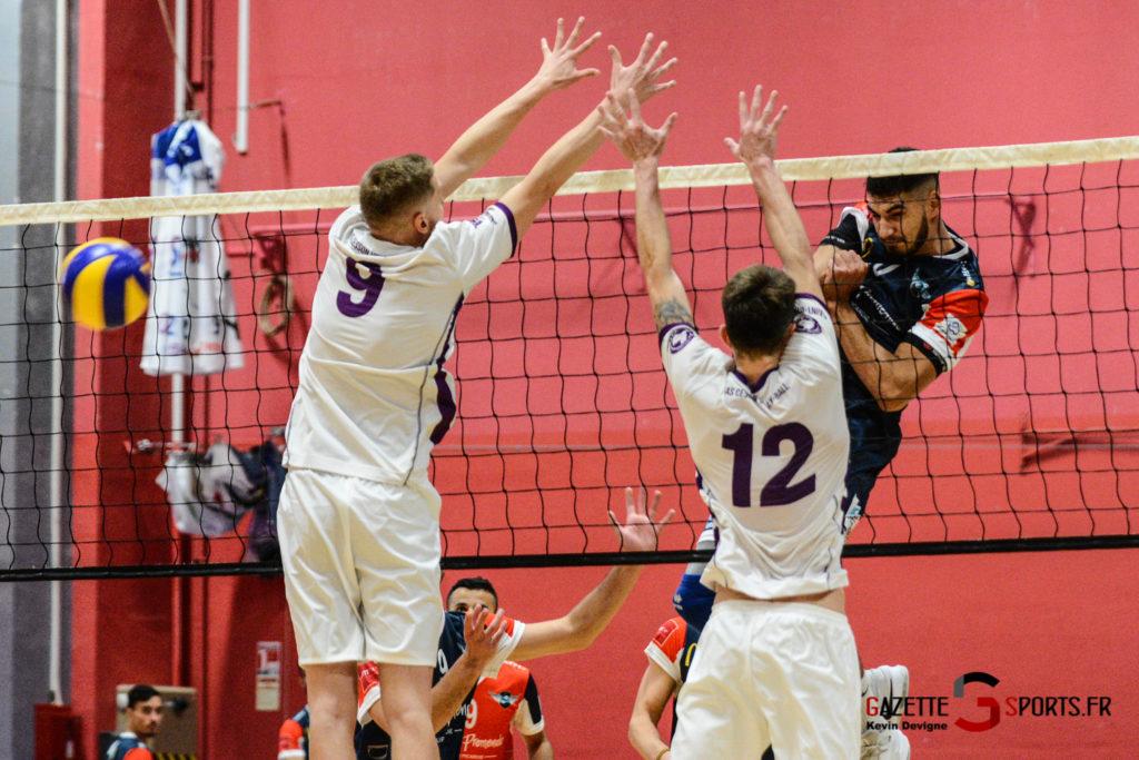 Volley Ball Amvb Vs As Cesson Saint Brieuc Kevin Devigne Gazettesports 46