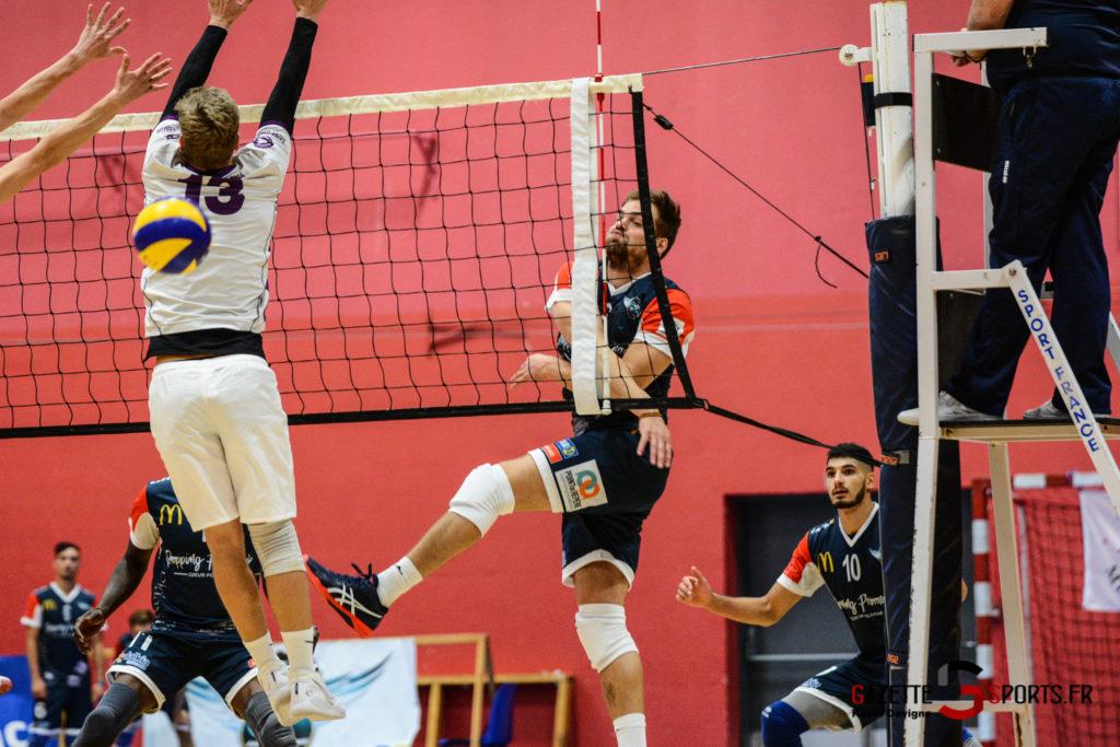 Volley Ball Amvb Vs As Cesson Saint Brieuc Kevin Devigne Gazettesports 48