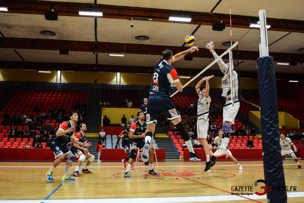 Volley Ball Amvb Vs As Cesson Saint Brieuc Kevin Devigne Gazettesports 5