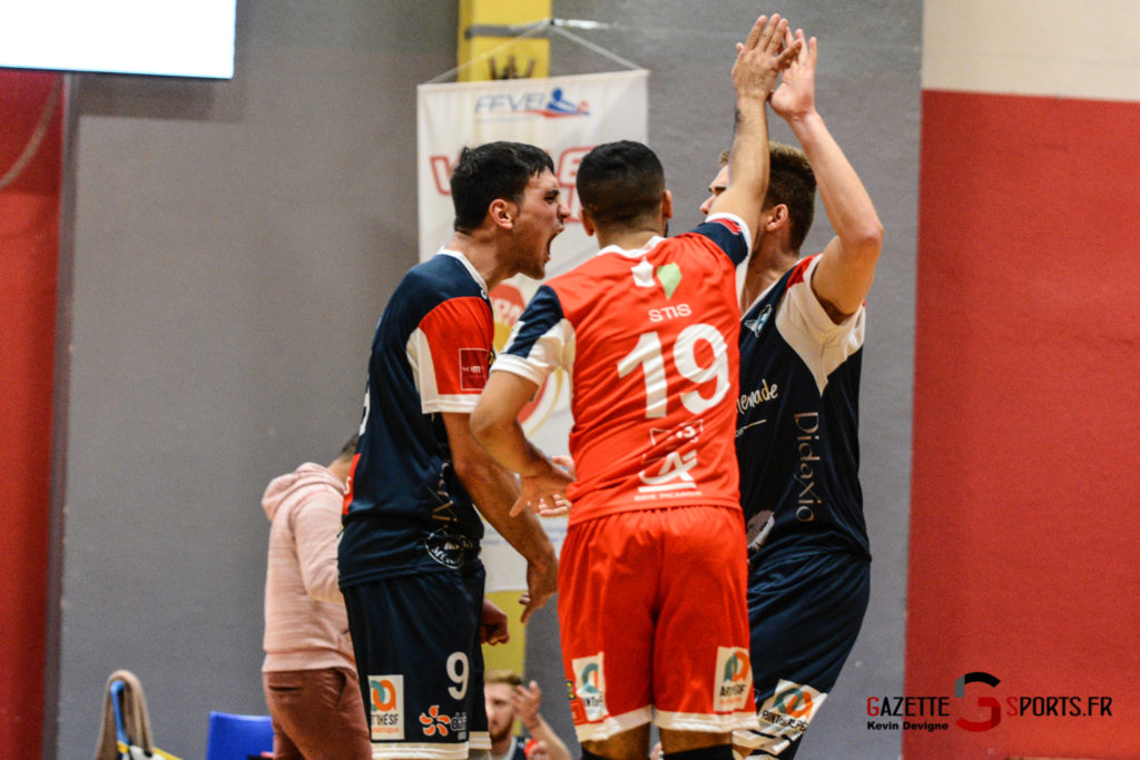 Volley Ball Amvb Vs As Cesson Saint Brieuc Kevin Devigne Gazettesports 55