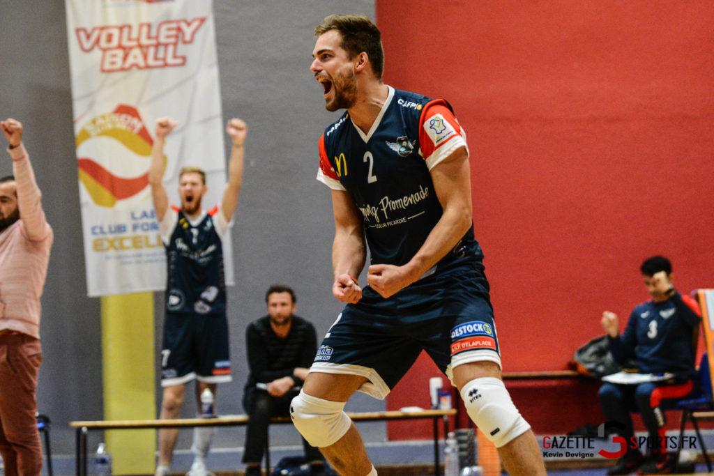 Volley Ball Amvb Vs As Cesson Saint Brieuc Kevin Devigne Gazettesports 57