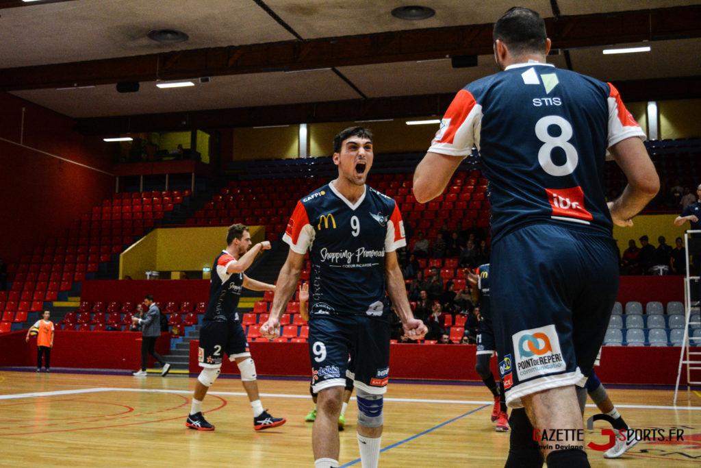 Volley Ball Amvb Vs As Cesson Saint Brieuc Kevin Devigne Gazettesports 6