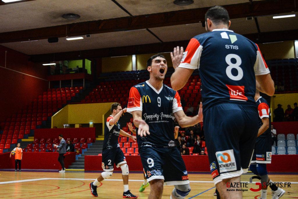 Volley Ball Amvb Vs As Cesson Saint Brieuc Kevin Devigne Gazettesports 7