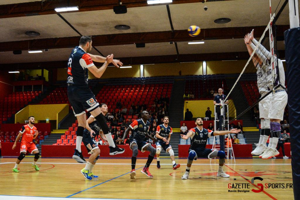 Volley Ball Amvb Vs As Cesson Saint Brieuc Kevin Devigne Gazettesports 9