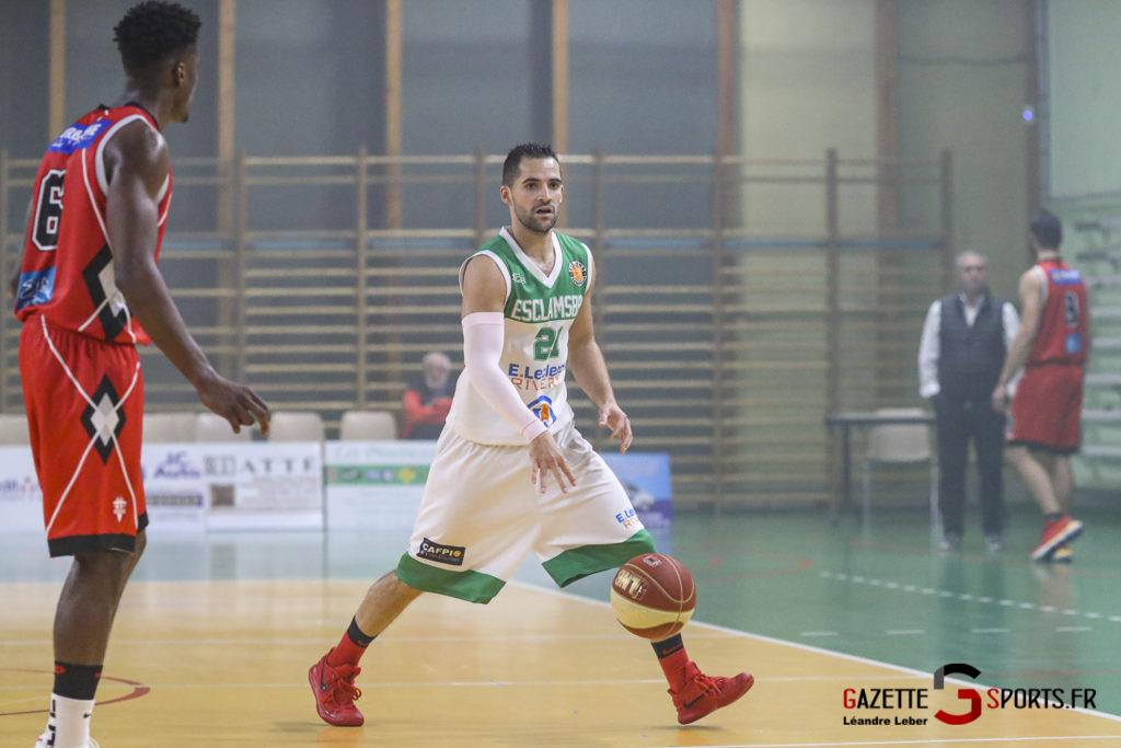 Basket Esclams Longueau Vs Juvisy 0036 Leandre Leber Gazettesports