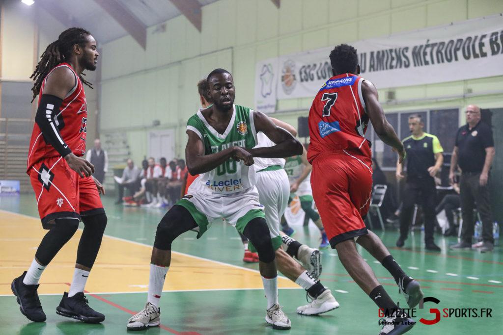 Basket Esclams Longueau Vs Juvisy 0040 Leandre Leber Gazettesports