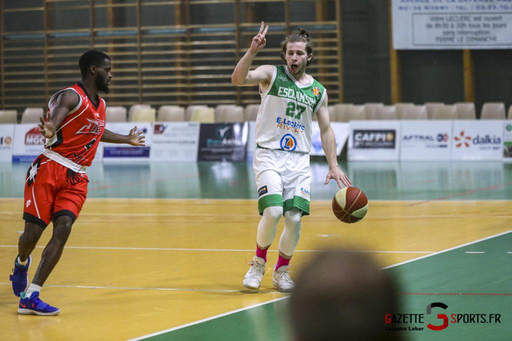 Basket Esclams Longueau Vs Juvisy 0045 Leandre Leber Gazettesports