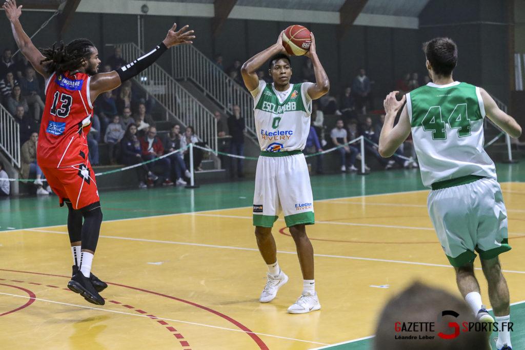 Basket Esclams Longueau Vs Juvisy 0058 Leandre Leber Gazettesports