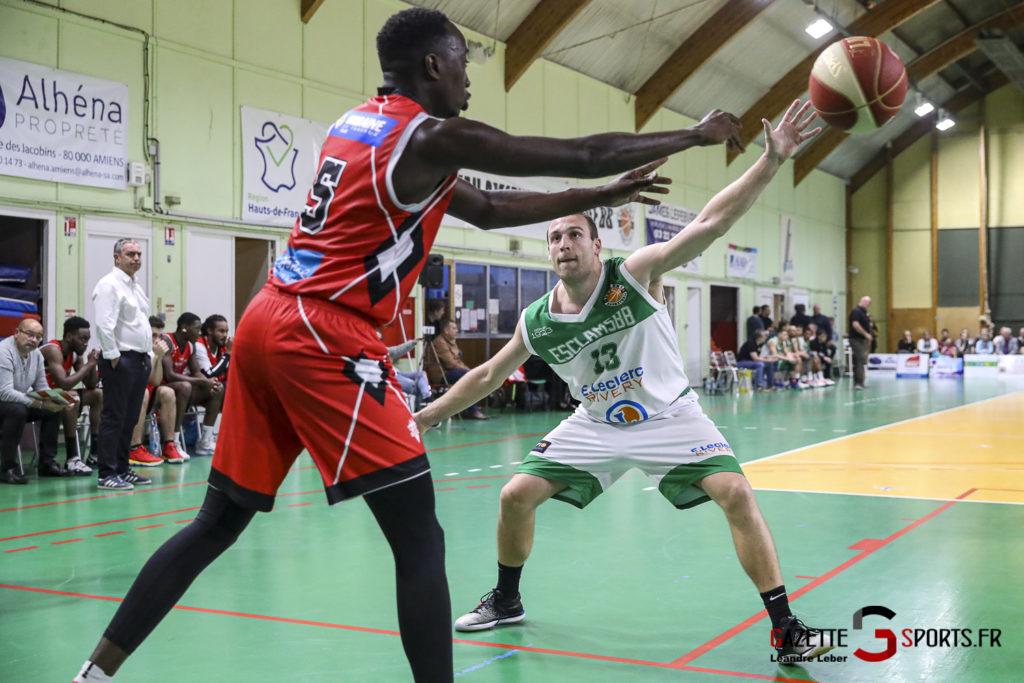 Basket Esclams Longueau Vs Juvisy 0065 Leandre Leber Gazettesports