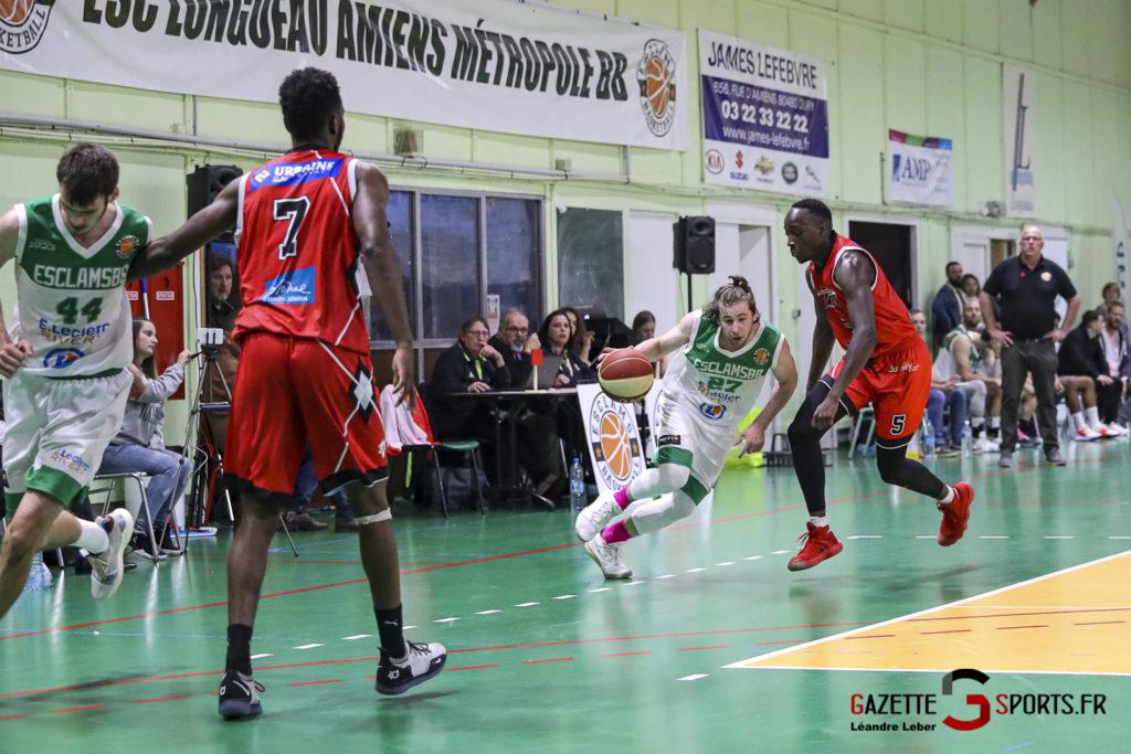 Basket Esclams Longueau Vs Juvisy 0070 Leandre Leber Gazettesports