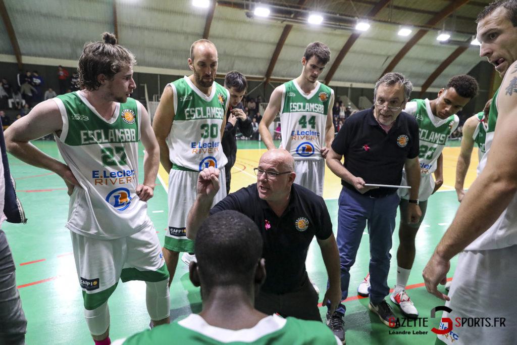 Basket Esclams Longueau Vs Juvisy 0075 Leandre Leber Gazettesports