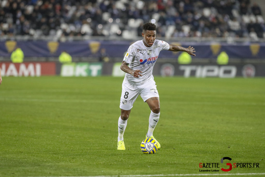 Football Coupe Amiens Sc Vs Angers Zungu 0002 Leandre Leber Gazettesports