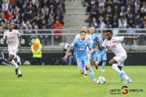 Football Ligue 1 Amiens Sc Vs Marseille Stiven Mendoza 0003 Leandre Leber Gazettesports